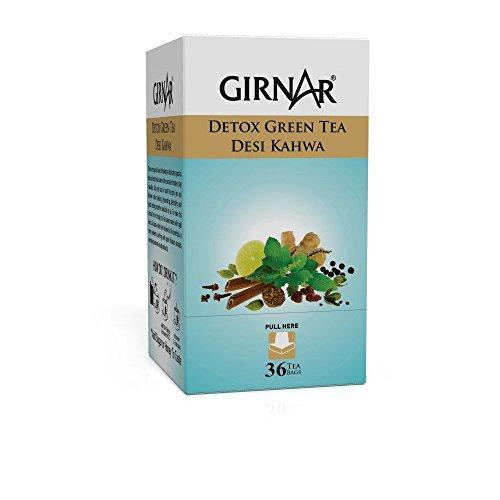 Girnar Detox Green Tea - 36 Teabags