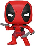 Funko Pop Bobble Marvel: 80th-First Appearance: Deadpool Figurine de Collection, 44154, Multicolore