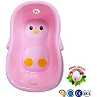 Bey Bee {Premium} Baby / Newborn / Infant Toddler Deluxe Bath Tub with Anti-Slip (Pink)