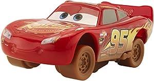 Cars 3- Coche Crazy Mcqueen (Mattel DYB04)