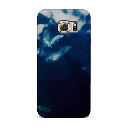 Samsung S7 Case, Samsung S7 Hard Protective SLIM Printed Cover [Shock Resistant Hard Back Cover Case] for Samsung S7 - Water Lake Fish Nature Indigo Blue  available at amazon for Rs.375