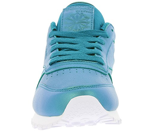 REEBOK BD5212 Classic Leather Pearlized Damen Sneaker Blau