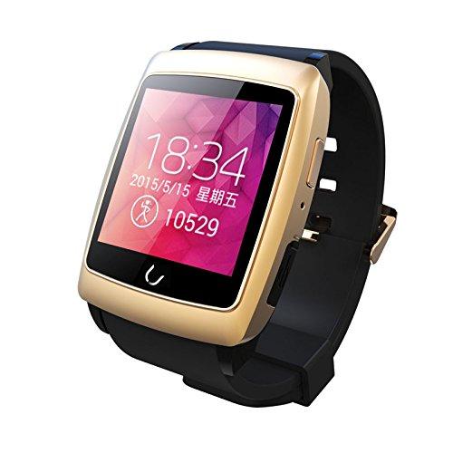 Peibo SW401impermeabile orologio intelligente WiFi Bluetooth GPS Navigator per Android Phone, monitoraggio del sonno, bussola cronometro, contapassi, Gold