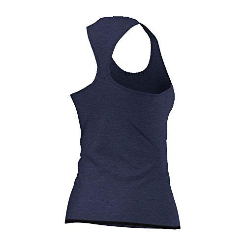 Adidas–Canotta da donna Climachill, Donna, Tanktop Climachill, blu scuro, 2XS blu scuro