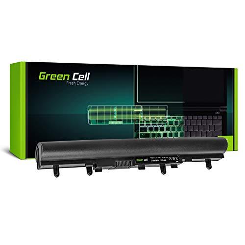 Green Cell Standard Serie Laptop AL12A32 Akku für Acer Aspire V5-531 V5-531G V5-551 V5-571 V5-571G Packard Bell EasyNote TE69BM TE69CX TE69KB (4 Zellen 2200mAh 14.4V Schwarz)