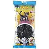 Hama - 205-18 - Midi Sachet - 6000 Perles - Loisir Créatif - Noir