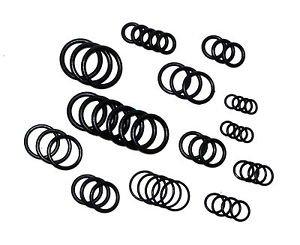50 o ring dichtungen o ringe dichtung gummidichtungen gr en 27 0mm 9 5mm neu. Black Bedroom Furniture Sets. Home Design Ideas