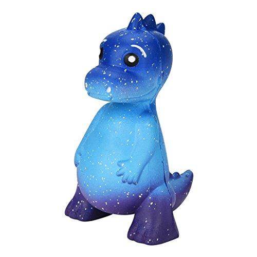 VENMO Galaxy Dinosaurier Rex Squishy Jumbo duftende Creme super langsam steigende Spielzeug Squeeze Spielzeug Stressabbau Spielzeug Galaxie Squishy Duft Langsam Steigende Spielzeug (BLUE)