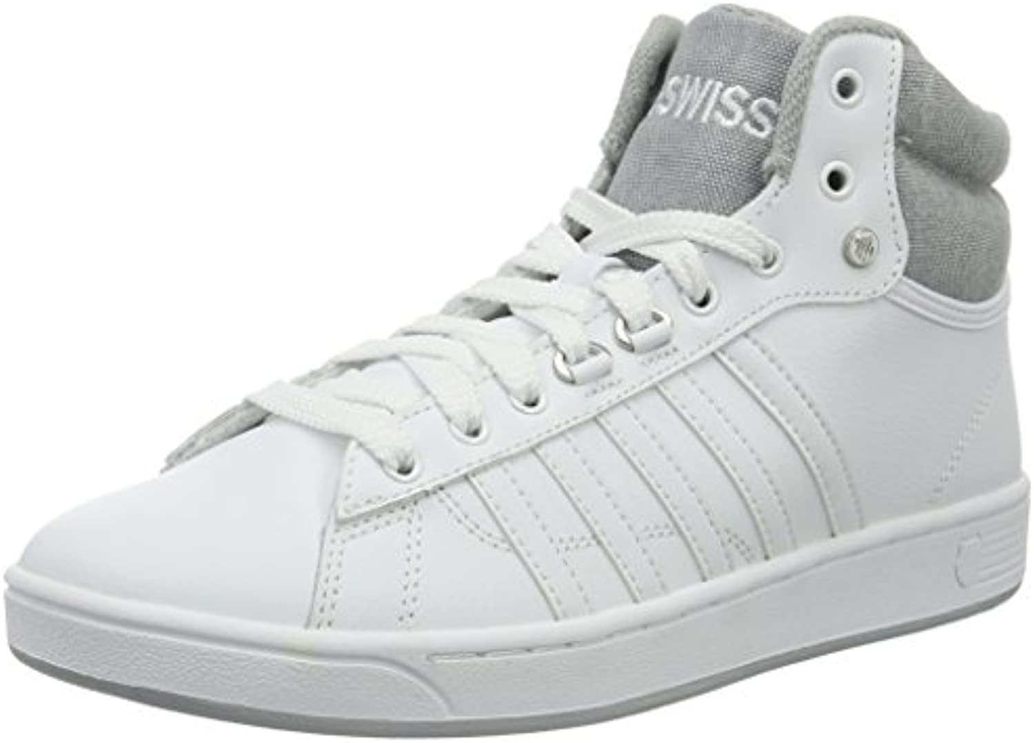 K Swiss Herren Hoke Mid C CMF Low Top  Weiß White/Highrise  39.5 EU
