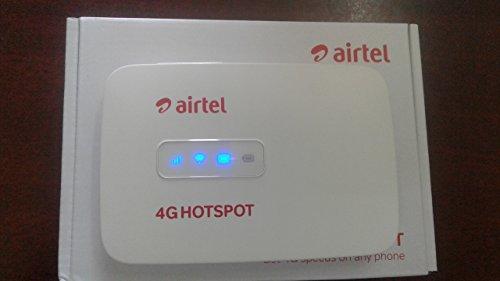 AIRTEL ALCATEL WM40CJ 4G WIFI HOTSPOT - UNLOCKED(15 members share wifi)
