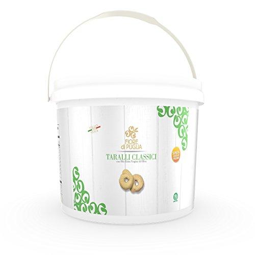Secchiello Taralli Classici 1.3 kg Fiore di Puglia