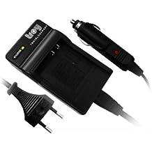 Batería cargador para Fuji NP-40, FinePix F402 F700 F710 F810 F811 V10 Z1 Z2 Z3 Z5fd Samsung Digimax i5 i6 i50 MP3 L50 L60 L73 L80 L700 i70 NV3 NV7 OPS NV10 Medion MD 85416 Jay-Tech WGL-0101