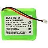 Téléphone fixe Batterie de rechange pour s63088MD81877md82711md82772Md82877