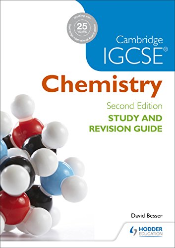 Cambridge IGCSE Chemistry Study and Revision Guide (Igcse Study Guides)