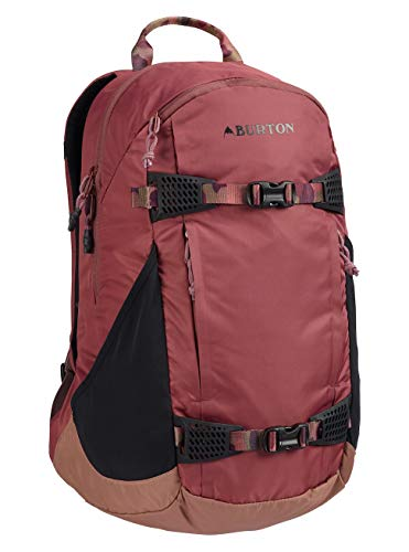 Burton Damen Day Hiker 25L Snowboardrucksack Rose Brown Flight Satin 48.5 x 30.5 x 18 cm