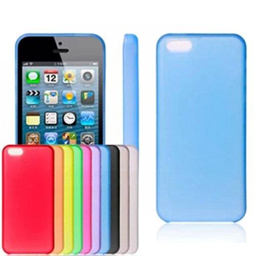 Silikoncase Schutzhülle Gummi Schutz Hülle Case für Apple iPhone 5c 5s (für iPhone 5s, Lila) Lila