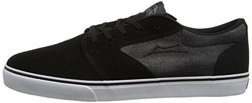 Lakai Fura Baker Shoes Black Suede