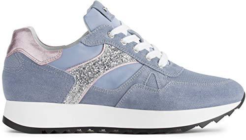 Nero Giardini P907742D Sneakers Donna Azzurro 38