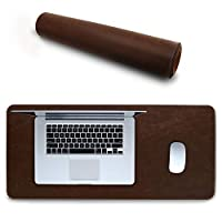 Londo Leather Extended Mousepad - Brown