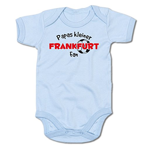Papas kleiner Frankfurt Fan Baby-Body (250.0240) (12-18 Monate, blau)