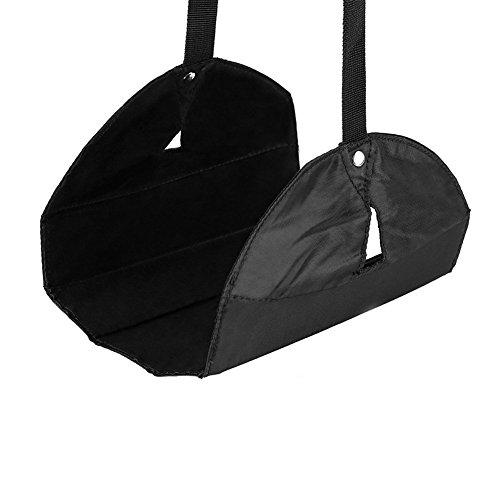 Bello Luna Tragbare Flugzeug Fußstütze mit Hängematte für Büro oder Reise -