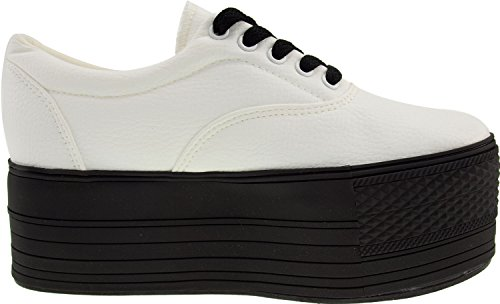 Maxstar  C60-5H,  Damen Sneaker Low-Tops TC-White