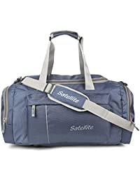 Satellite Leader 40 liters Multi Pocket Heavy Duty Travel Bags | Duffle Bag Organizer I Gym Bag for Men & Women Huge Capacity with Shoe Compartment