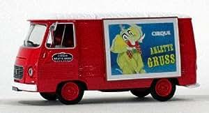 Eligor - Miniature Peugeot J7 Publicitaire Cirque Arlette Gruss