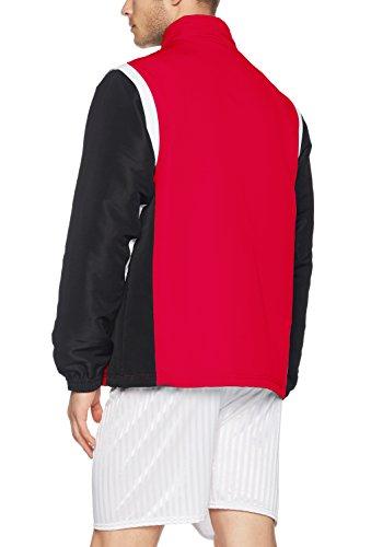 Erima–Giacca sportiva da uomo Razor 2.0con maniche rimovibili Rosso/Nero/Bianco