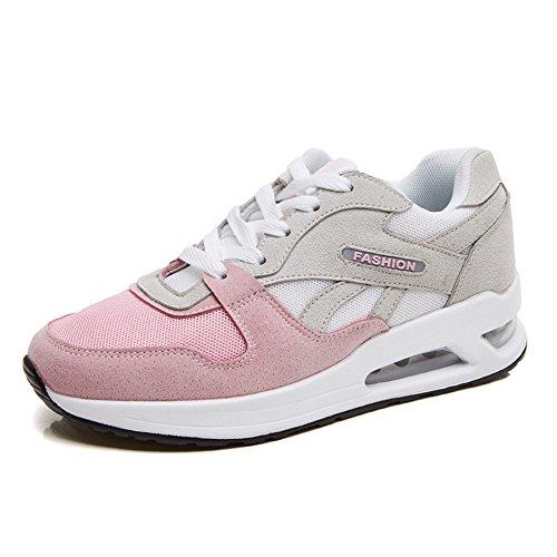 Scarpe da Corsa Donna Scarpe Da Sportive Running Basket Sneakers 35-40 Rosa