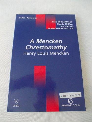 a-mencken-chrestomathy-henri-louis-mencken