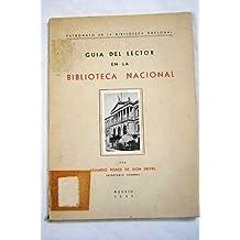 Guía del lector en la Biblioteca Nacional.