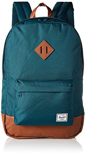 Herschel Heritage Rucksack dunkelblau/braun, OneSize (Herschel Heritage-rucksack)