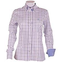 Pasión Morena 84PA020500805 Camisa, Mujer, Azul, ...
