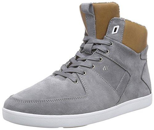 Boxfresh - Camberwell Inc Sde/lea Grif Gry/tan, Sneaker alte Uomo Grigio (Grau (GRIFFIN GREY/TAN))