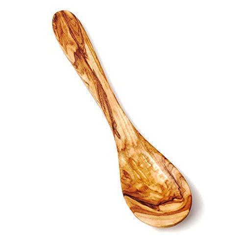Das Olivenholzbrett Kochlöffel, Klassische Löffelform, 30cm