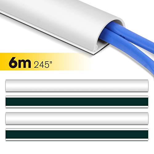 Canal Cable, Stageek 6M Canaleta Cableado, Cavo on-wall