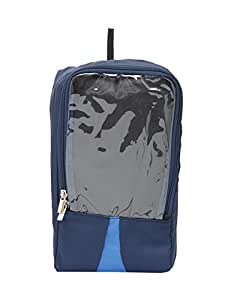 Bags.R.Us Shoe Saver Compact Navy Blue Shoe Bag