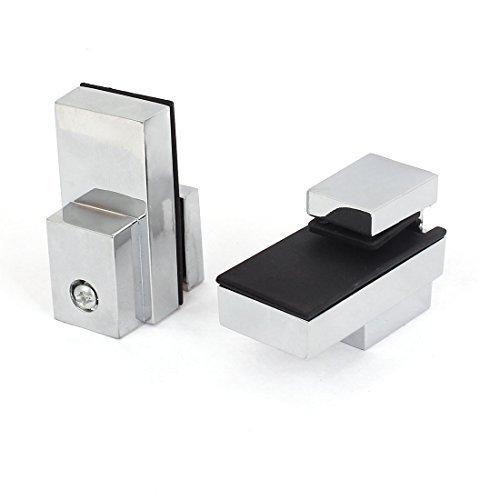 Sourcingmap regolabile 3mm di spessore ripiano in vetro clip morsetto supporto  pezzi