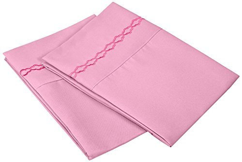 super-soft-light-weight-100-brushed-microfiber-king-pink-with-cloud-embroidery-2-piece-pillowcase-se