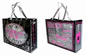 "Caroline Lisfranc - Sac shopping ""La vie est belle"""