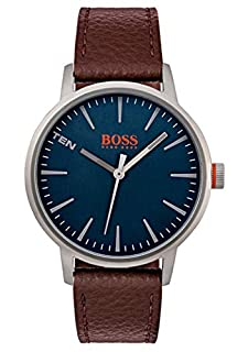Hugo Boss Orange Reloj Análogo clásico para Hombre de Cuarzo con Correa en Cuero 1550057 (B075B2WW1C) | Amazon price tracker / tracking, Amazon price history charts, Amazon price watches, Amazon price drop alerts