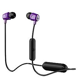 Skullcandy Jib Wireless In-Ear Earphones with Mic (Purple)