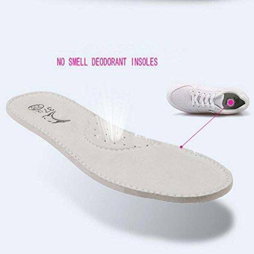 Solshine , chaussures compensées femme Blanc