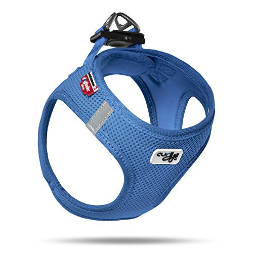 Curli Vest Geschirr Air-Mesh, Blue