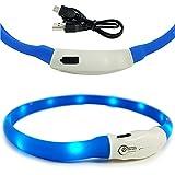 BPS® Halskette LED Sicherheit für Haustiere Hunde Katzen Wasserdicht Halskette LED-helles Licht 2Farben 3Größen zur Auswahl 35/50/65cm bps-5550bps-5551bps-5552