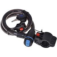 Filmer Spiral Cable Lock - Black, 15 x 700 mm