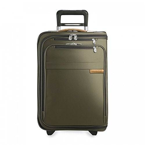Aufrechte Gepäck (Briggs & Riley @ Baseline Gepäck Baseline Domestic oder aufrecht Kleidersack, Oliv (Grün) - U175-7)