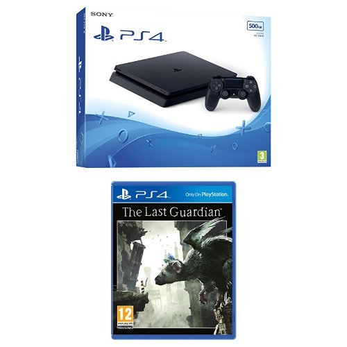 Sony PlayStation 4 500GB Console + The Last Guardian