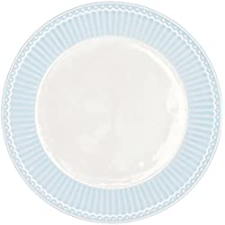 GreenGate Teller - Plate - Alice Pale Blue 20,5 cm
